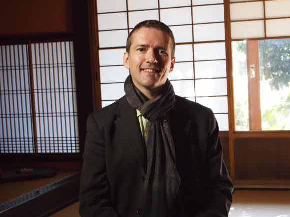 Sylvain Huet, saké samouraï, fondateur de l'Académie du Saké et organisateur du Salon