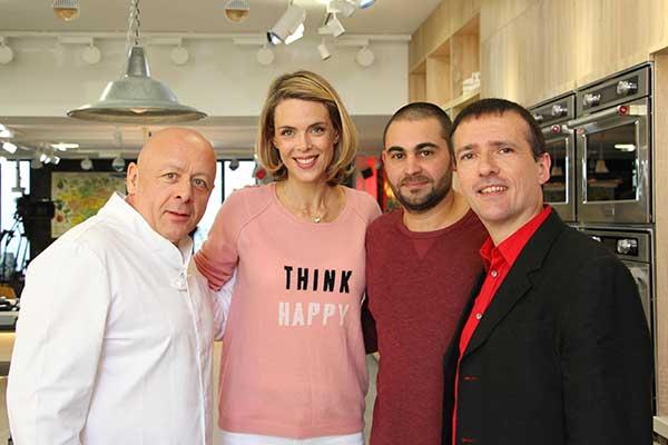 Sylvain Huet dans Les carnets de Julie avec Thierry Marx