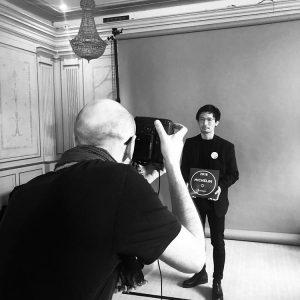 Ryohei Kawasaki,  « carte blanche » Atelier-dégustation Salon Européen du Saké et des boissons japonaises 2018