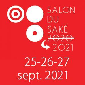 Report du salon du Saké 2020 aux 25-26-27 septembre 2021