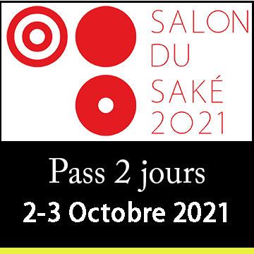 2 days pass - Saturday & Sunday, Oct. 2nd/3rd 2021 - Salon du Sake - Paris